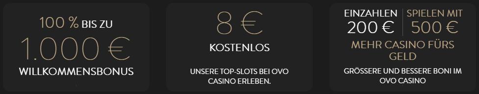 ovo casino bonus auszahlung