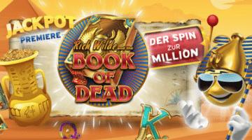 Book of Dead Jackpot von Play'nGo gewinnen