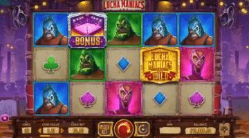 Lucha Maniacs – neuer Yggdrasil Slot