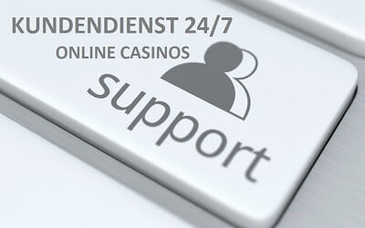 Kundenservice in Online Casinos