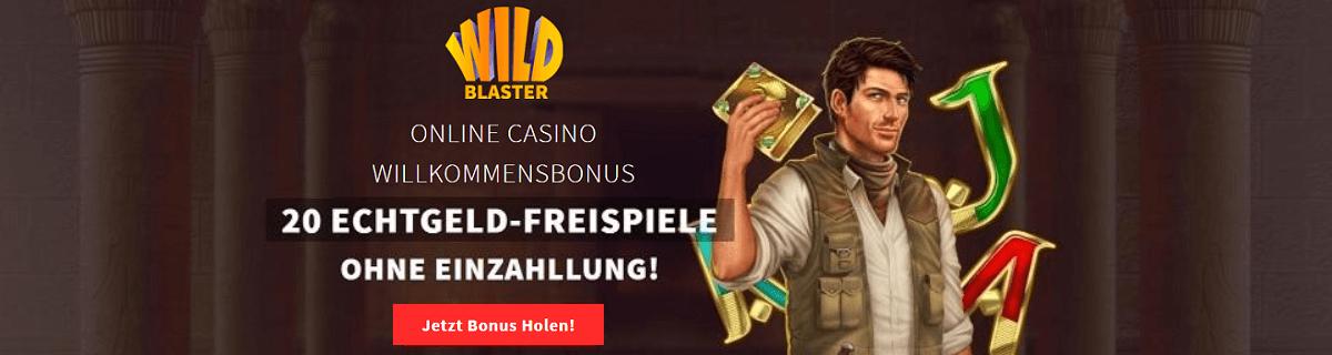Wildblaster Freispiele Bonus