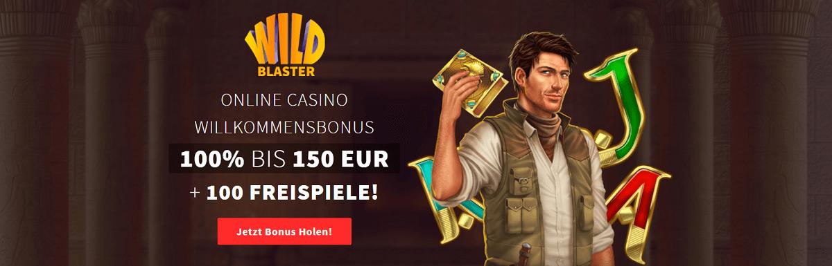 Wildblaster Casino Wilkommens Bonus