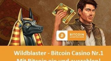 Wildblaster Casino – Mit Bitcoin bezahlen