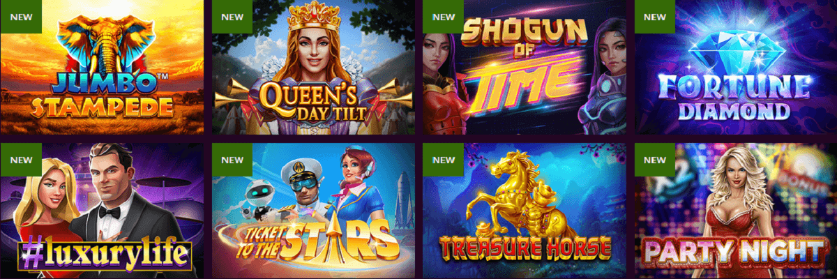Malina Casino Spiele