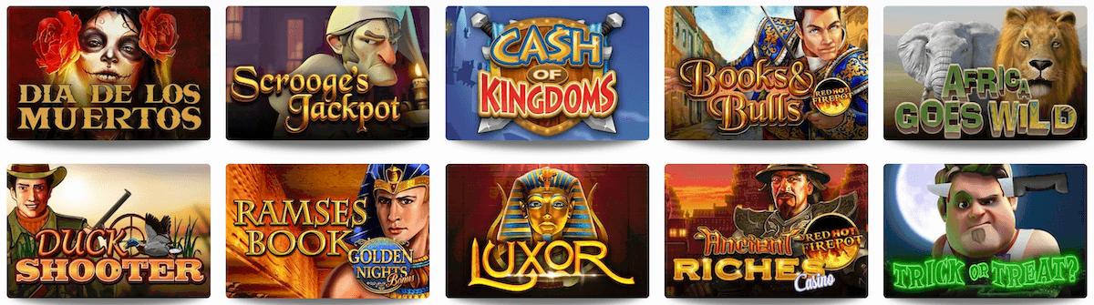 Omni Slots Casino Spiele
