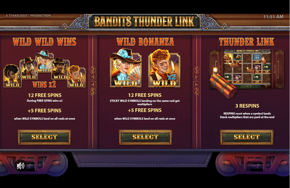 Bandits Thunder Link Stakelogic