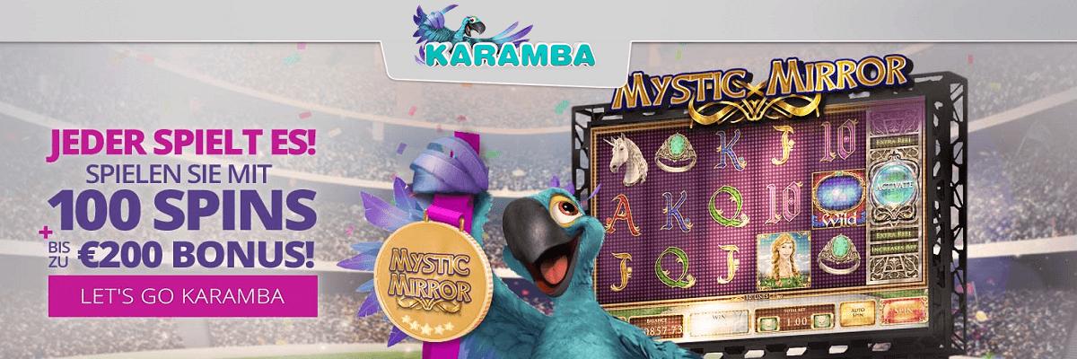Karamba Willkommens Bonus