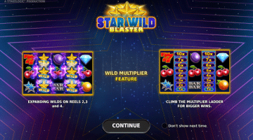 Star Wild Blaster Stakelogic