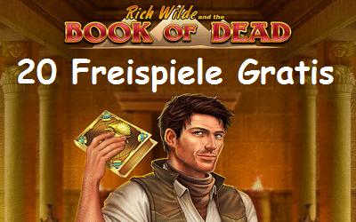 Book of Dead Freispiele
