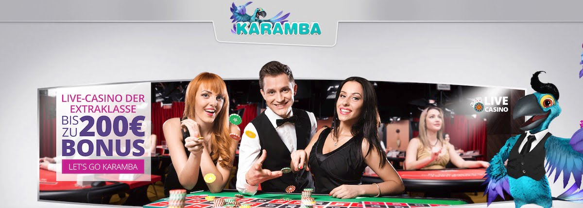 Karamba Casino Live Casino Bonus