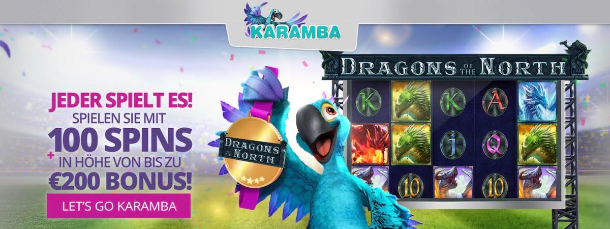 Karamba Casino Willkommens Bonus