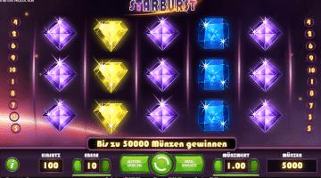 Starburst Spielautomat NetEnt