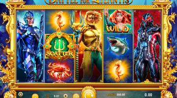 Battle for Atlantis GameArt: Gratis Spielen und Online Casinos