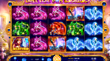 Battle for Cosmos GameArt: Gratis Spielen und Online Casinos