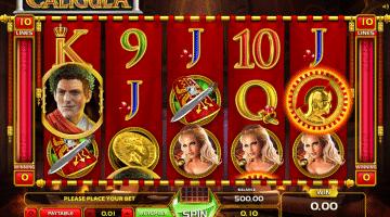 Caligula GameArt: Gratis Spielen und Online Casinos