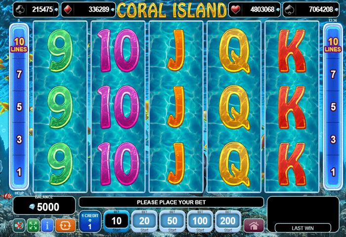 Coral Island EGT