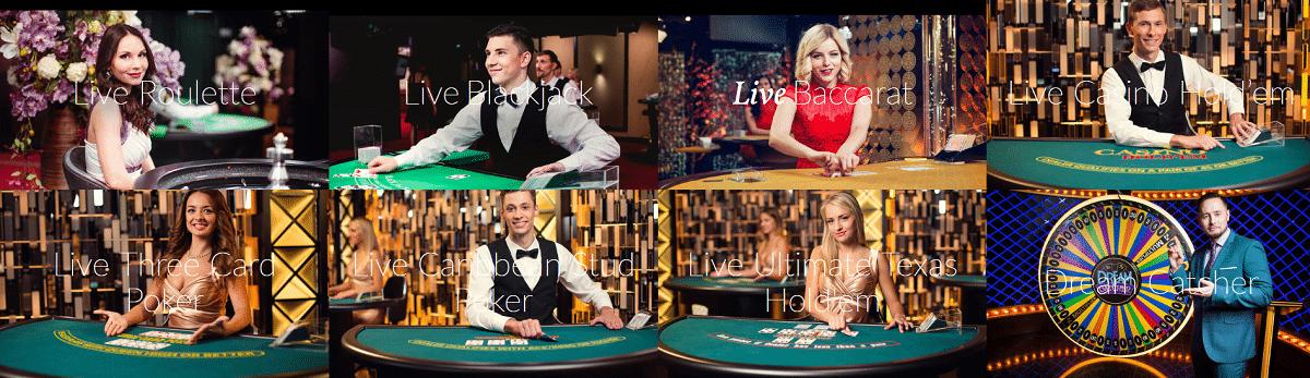 Evolution Gaming Live Casino Spiele