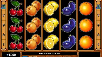 Fruits Kingdom EGT: Gratis Spielen und Online Casinos