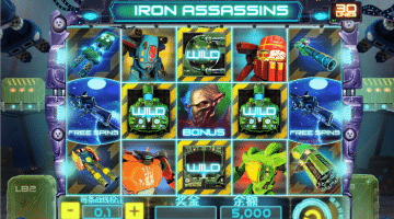 Iron Assassins Spinomenal: Gratis Spielen und Online Casinos