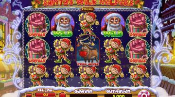 Santas Wild Helpers Spinomenal