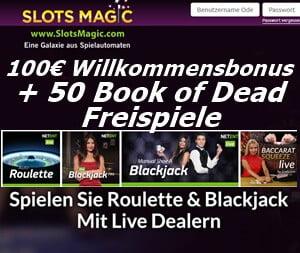 Bonus im Slots Magic Casino