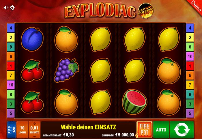 casino spiel explodiac
