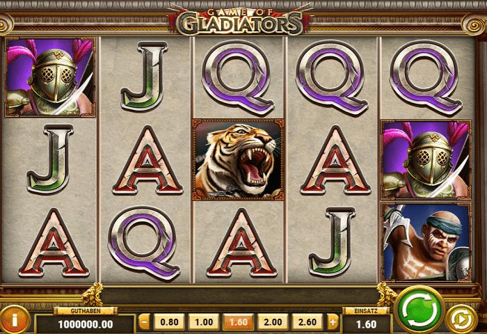 Casino Spiel Gladiators