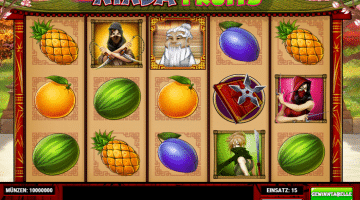 Ninja Fruits Play n Go
