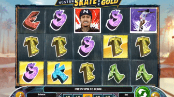 Nyjah Huston Skate for Gold Plan Go