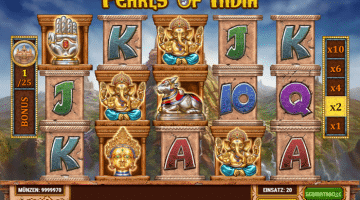 Pearls of India Play n Go