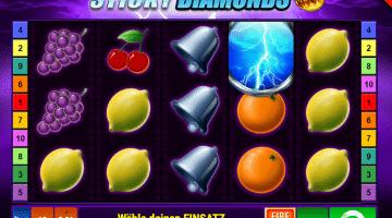 Sticky Diamonds Gamomat