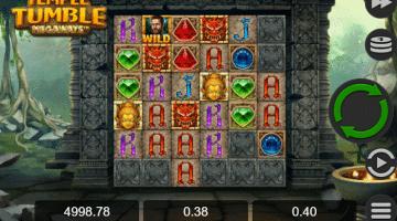 Temple Tumble Megaways Relax Gaming: Gratis Spielen und Online Casinos