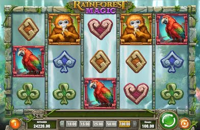 Rainforest Magic Slot