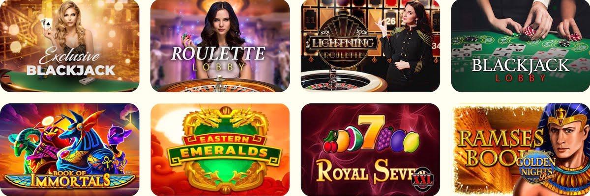 Kassu Casino Spiele