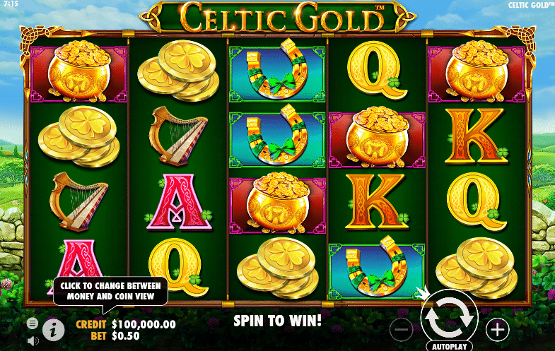 Celtic Gold Pragmatic Play