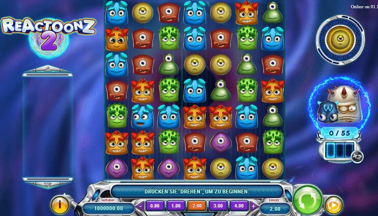 Reactoonz 2 Play'n Go