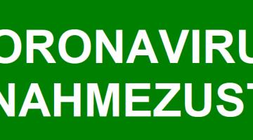 Coronavirus – Ausnahmezustand
