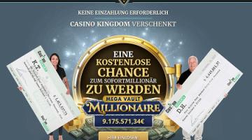 Casino Kingdom – Kostenlose Jackpot Chance!