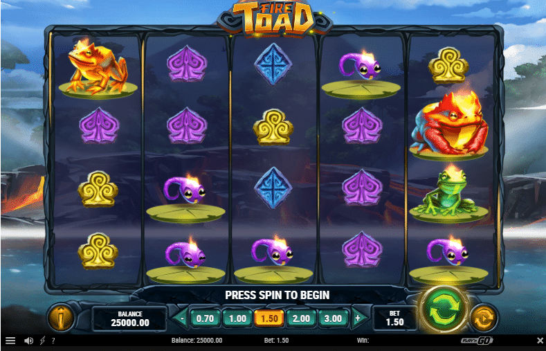 Fire Toad Playn Go