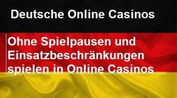 Zocken in Deutschland – Online Casinos ohne Limit
